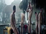 Naked scene from the movie Les Confins su Monde